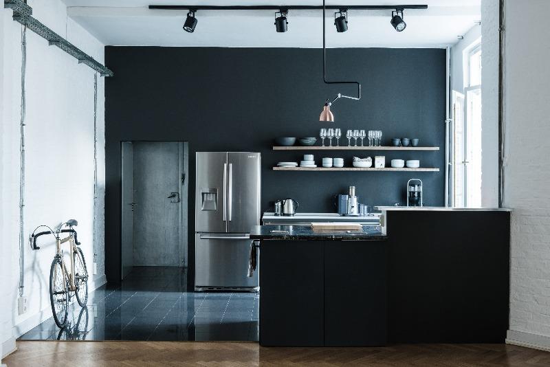 Cozinha - decorações escuras