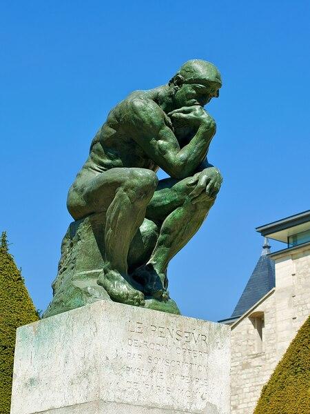 O Pensador - Rodin