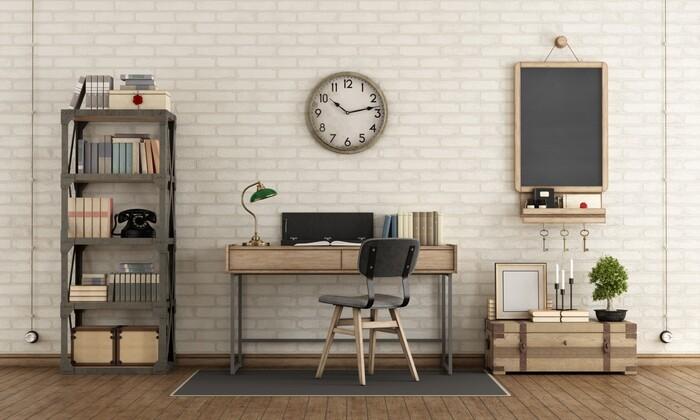 Móveis e acessórios vintages para decoração industrial