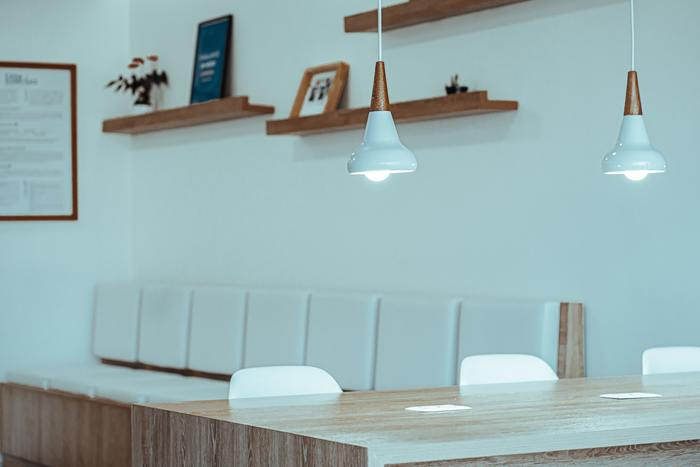 iluminação minimalista