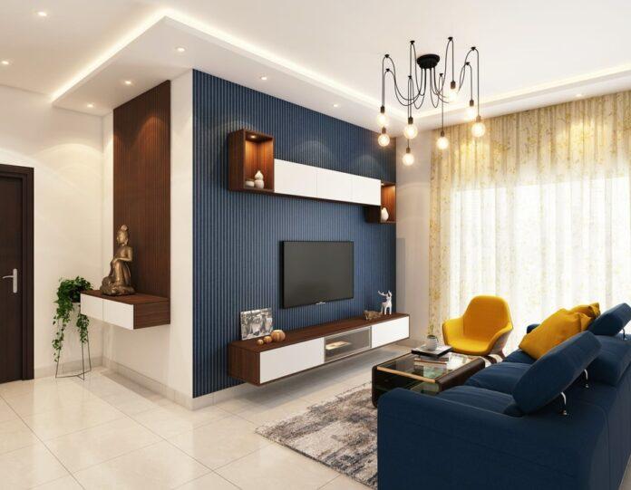 decoração minimalista sala