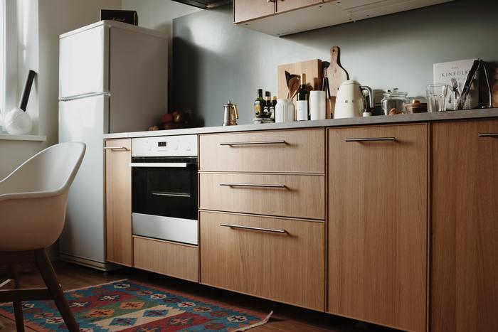 armários na cozinha