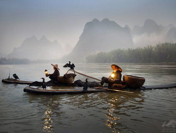 The Last Fisherman: Li River I - Weerapong Chaipuck