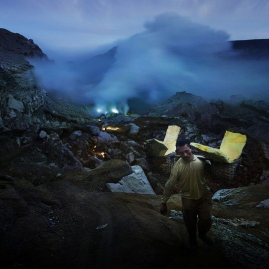 Activity around Kawah Ijen - Weerapong Chaipuck