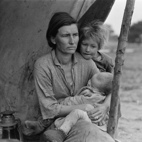 Migrant Family II - Dorothe Lange