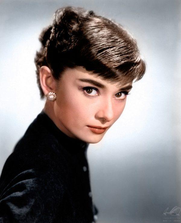 Audrey Hepburn in Black
