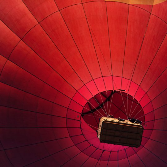 Ballon Detail Bagan - Andreas Kunz.