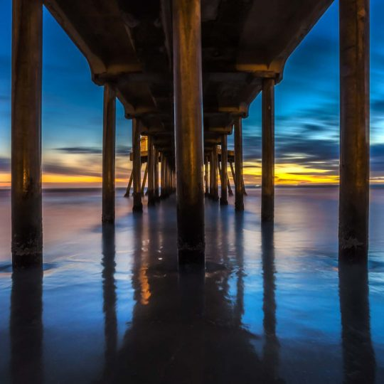 Huntington Pier Sunset - Alê Rodrigues
