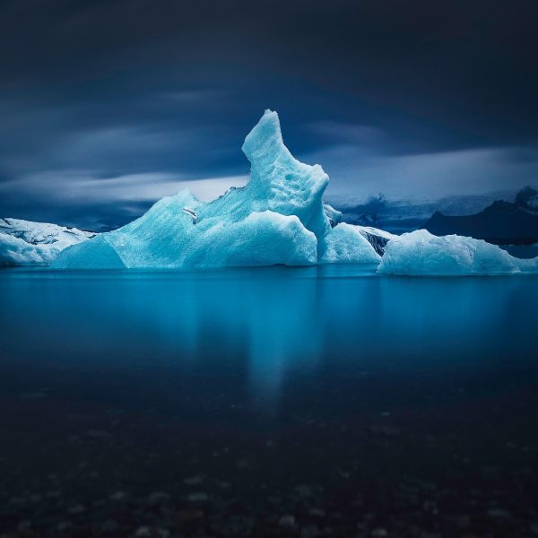 Iceberg Jökulsarlon Long Exposure -Andreas Kunz