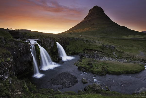 Kirkjufell Sunset Iceland - Andreas Kunz