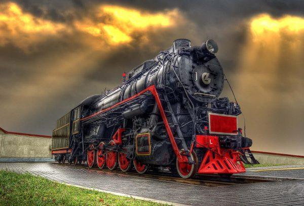 Locomotive and Rays - Laimonas Ciunys