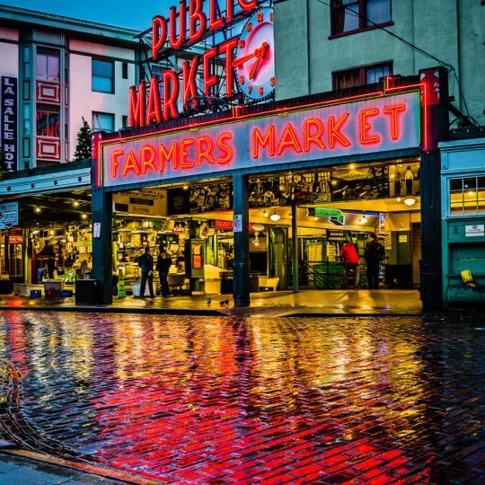Market Glow - Brian Xavier