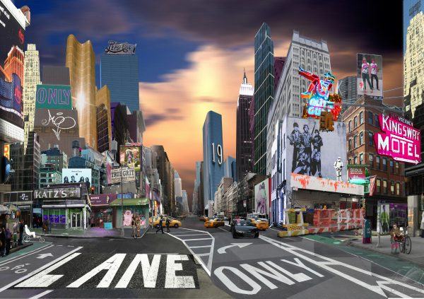 New York Street - Sandra Rauch