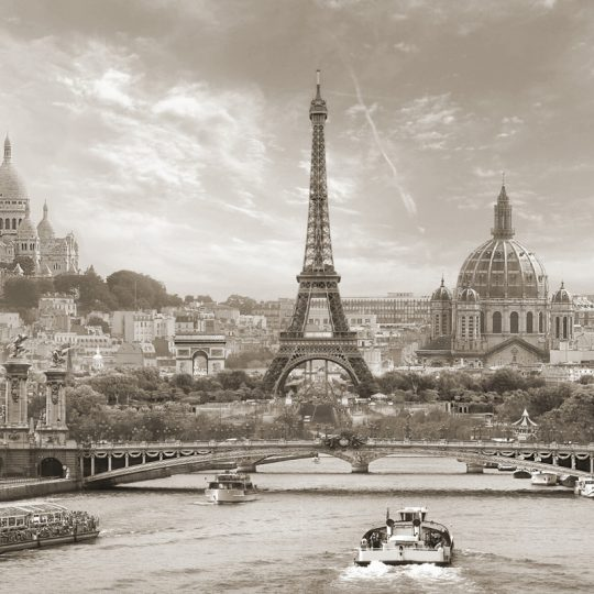 Paris in Sepia - Teuni Stevense