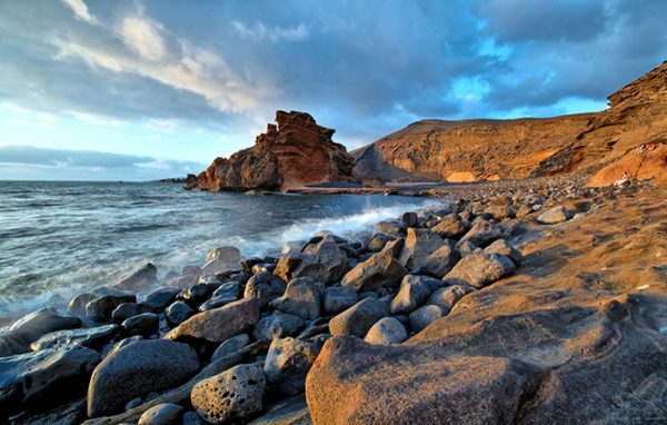 Praia do Golfo em Lanzarote - Luc Viatour