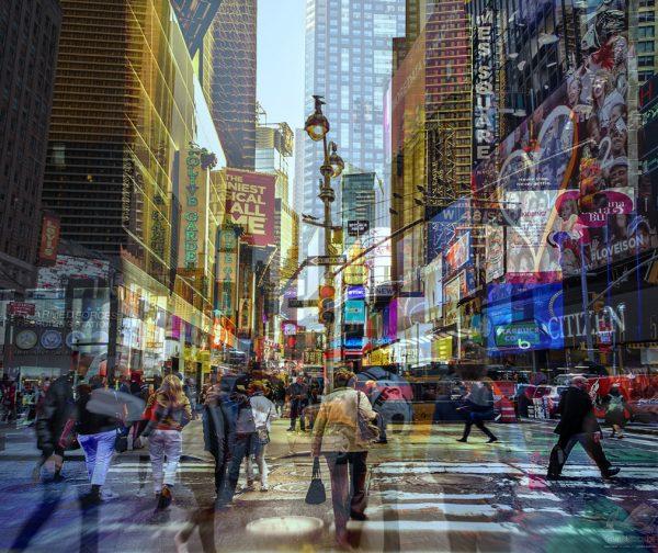 Times Square - Claudia Furlani
