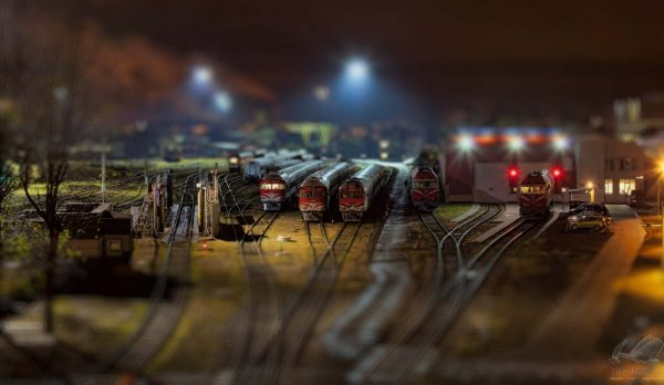 Toy Trains - Laimonas Ciünys