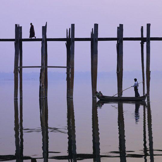 U Bein Bridge Morning II - Andreas Kunz