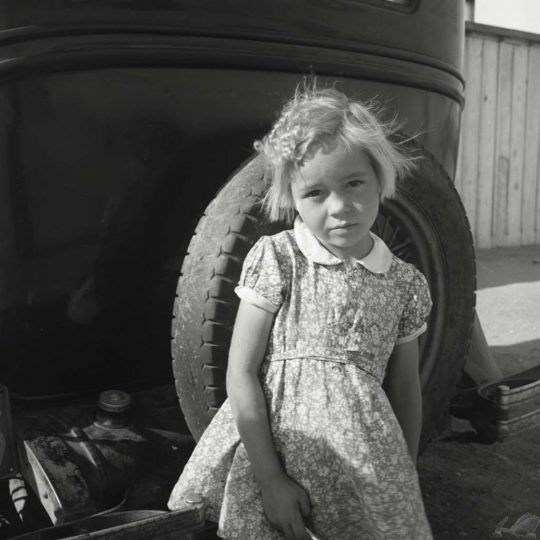 Arkansas Girl - Dorothea Lange