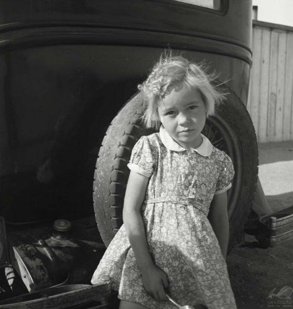 Arkansas Girl - Dorothea Lange