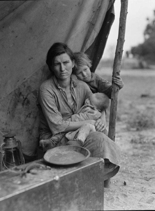 Migrant Family I - Dorothea Lange