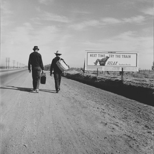 Towards L.A - Dorothea Lange