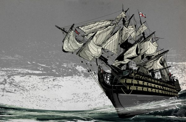 HMS Victory - Kako