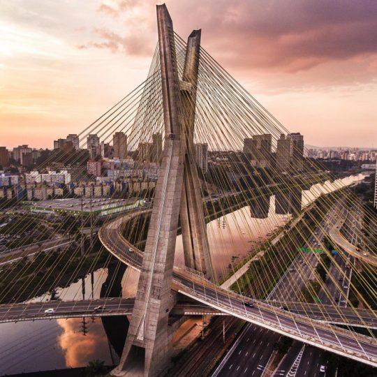 Ponte estaiada II - Michel Moretti,