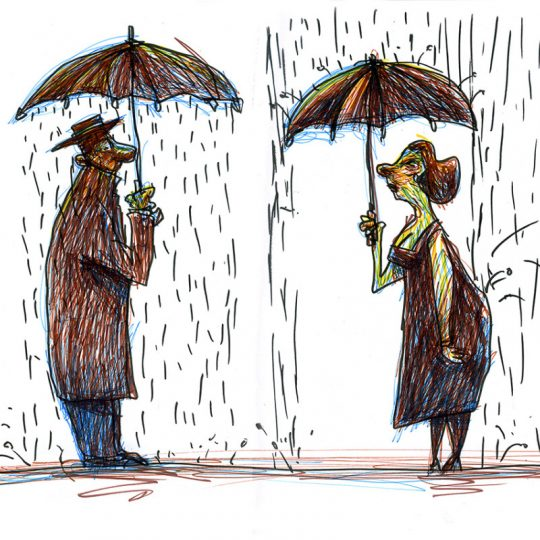 Chove - Orlando Pedroso