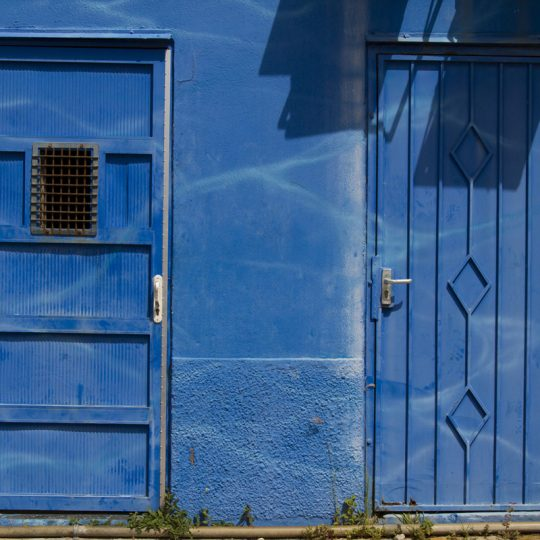Blue and Shadows - Lucille Kanzawa