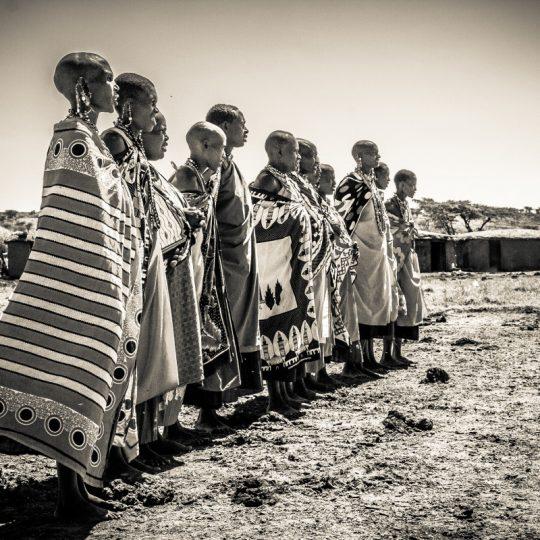 Tribo Masai Mara - Thomaz Salmi