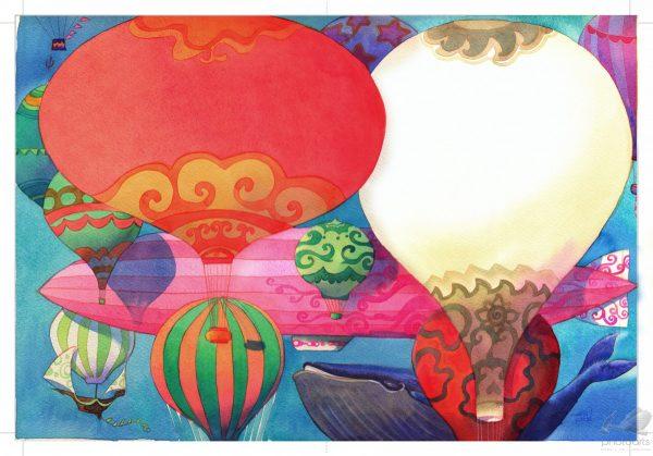Balões e Baleia - Cris Eich