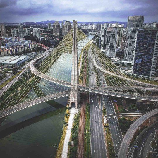 Abstrato Urbano I - Sérgio Souza