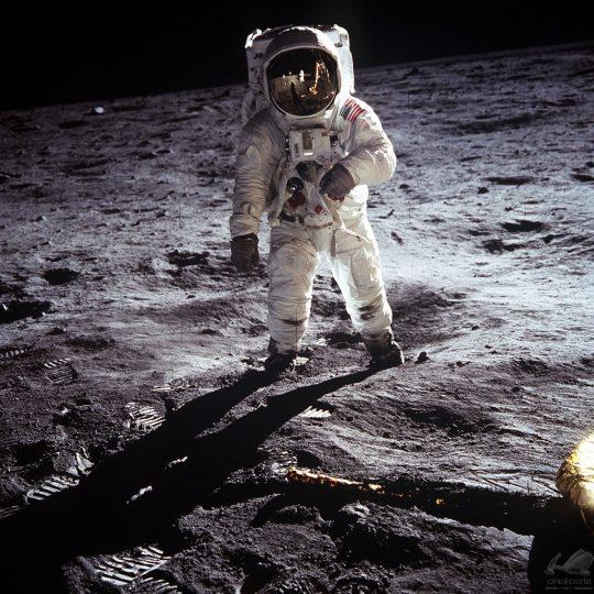Buzz Aldrin na Lua - NASA