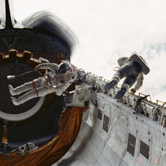 Challenger Cargo bay