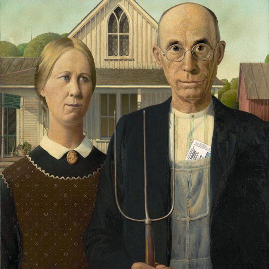 A Happy American Gothic
